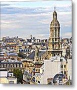 Paris Rooftops Metal Print by Elena Elisseeva