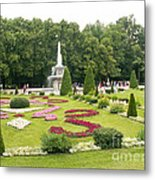 Park In Petergof Metal Print
