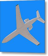 Passenger Airplane. Metal Print
