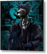 Peruvian Hairless Dog Art Canvas Print Metal Print