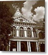 Pontiac Illinois - Courthouse Metal Print