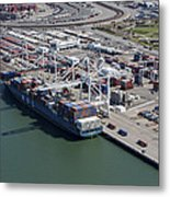 Port Of Oakland, Oakland Metal Print