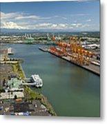 Port Of Tacoma, Tacoma Metal Print