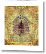 Prayer Flag Triptych  Metal Print by Carol Leigh