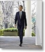President Obama Metal Print by JP Tripp