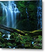 Proxy Falls Oregon Metal Print