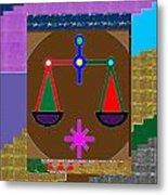 Pure Decorations Zodiac Symbol Art Metal Print