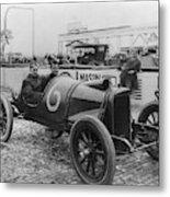 Racecar Drivers, C1913 Metal Print