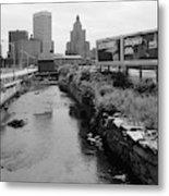 Rhode Island Canal Metal Print