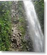 Rock Climbing Rope Climbing Costa Rica Vacations Waterfalls Rivers  Recreation Challanges  Facilitie Metal Print