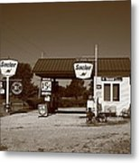 Route 66 Gas Station Metal Print