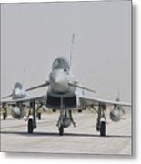 Royal Air Force Ef-2000 Typhoon Metal Print