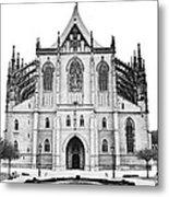 Saint Barbara Church  Metal Print