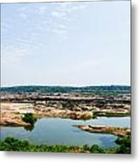 Sam Phan Bhok Grand Canyon In Mekong River In Ubon Ratchathanee Metal Print
