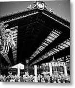 Santiago Central Railway Station Chile Metal Print