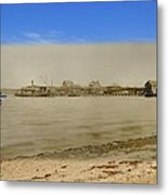 Shaw's Wharf At Sakonnet Point In Little Compton Rhode Island Metal Print