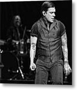 Shinedown  Brent Smith Metal Print