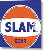 Slam One Gear Metal Print by James Eye