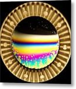 Soap Bubbles Metal Print