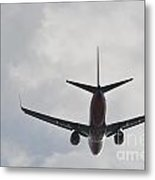Southwest Airplane Boeing 737  Picture D Metal Print