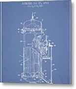 Space Capsule Patent From 1963 Metal Print
