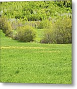 Spring Farm Landscape In Maine Metal Print by Keith Webber Jr