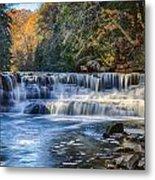 Squaw Rock - Chagrin River Falls Metal Print