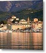 St Florent In Corsica Metal Print