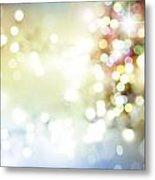 Starry Background Metal Print
