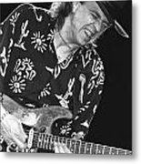 Guitarist Stevie Ray Vaughan Metal Print