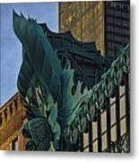 3 Styles Of Architecture Telephoto Metal Print