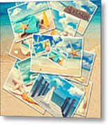 Summer Postcards Metal Print by Amanda Elwell