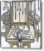 Surgical Instruments Metal Print