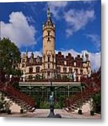 The Castle Of Schwerin Metal Print