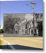 The Commons In Little Compton Rhode Island Metal Print