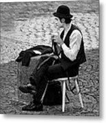 3 - The Cravat - Cravate - French Mime Metal Print