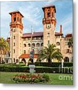The Lightner Museum Formerly The Hotel Alcazar St. Augustine Florida Metal Print