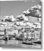 The River Thames Metal Print
