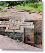 The Rock-hewn Churches Of Lalibela Metal Print