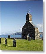 The Ruined Church Of St Brynach At Cwm Yr Eglwys Metal Print