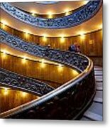 The Vatican Stairs Metal Print