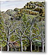 Then And Now A New Beginning Metal Print