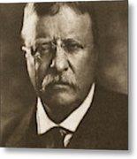 Theodore Roosevelt (1858-1919) Metal Print