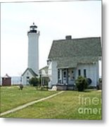 Tibbetts Point Light Metal Print by Kevin Croitz