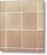 Tiles Background Metal Print