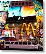 Times Square - New York City Metal Print