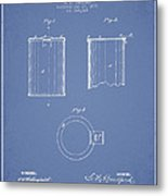 Tin Can Patent Drawing From 1878 Metal Print