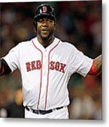 Toronto Blue Jays V Boston Red Sox Metal Print