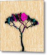 Tree Art Metal Print