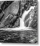 True's Brook Gorge Water Fall Metal Print